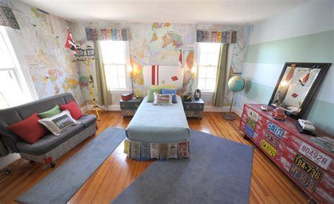 Travel Theme Kid's Rooms