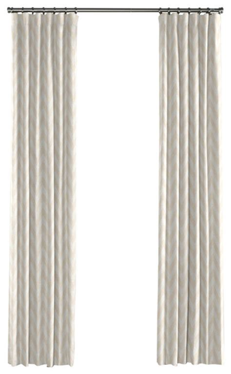 Gold And White Chevron Curtains by Metallic White And Gold Chevron Curtain Single Panel