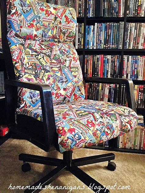 homemade shenanigans superhero desk chair furniture