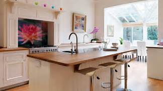 Open Plan Kitchen Designs Original Open Plan Kitchen From Harvey Jones