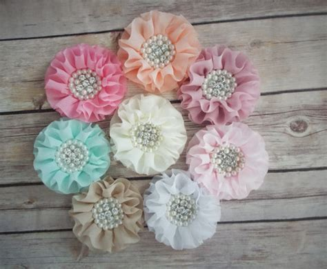 Wedding Accessories For Girls : Flower Hair Clip, Girls Hair Clip, Flower Girls, Hair