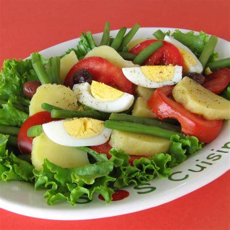 recette salade de legumes varies  oeufs durs
