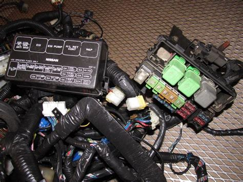 85 300zx Fuse Box by 89 90 Nissan 240sx Oem Fuse Box Wiring Harness