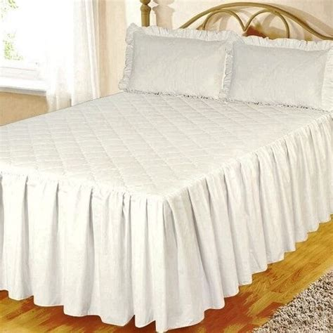 King Quilted Bedspread by White Fitted Cotton Quilted Bedspread Pillowsham