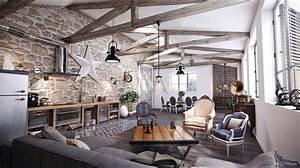 25 tasteful living rooms for Exceptional sculpture moderne pour jardin 16 deco cuisine chalet