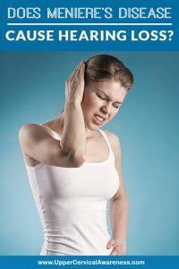 menieres disease  hearing loss upper cervical