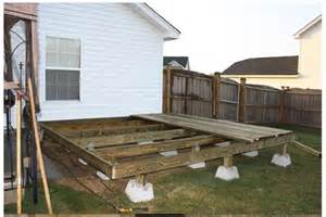 Deck Post Footings by Floating Deck Best Images Collections Hd For Gadget