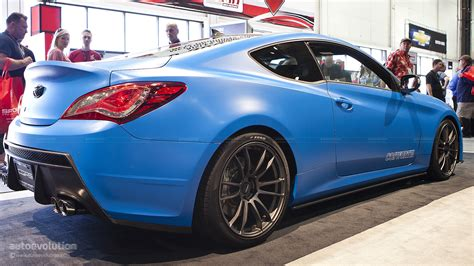 The death of the genesis coupe leaves hyundai without a traditional sports car in its lineup for the first time since 2009. 2012 SEMA: The Cosworth Hyundai Genesis Coupe Racing [Live ...