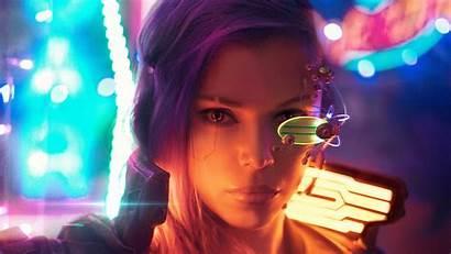Cyberpunk 4k Cosplay Wallpapers Fantasy Ciberpunk Wallpaperaccess