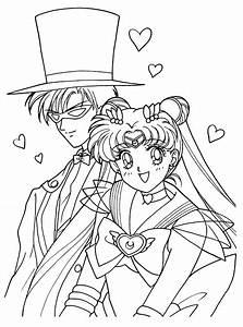Sailormoon, Ausmalbilder