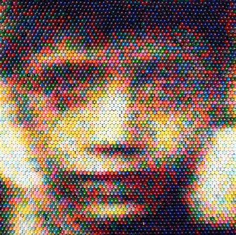 stunning crayon pixel art  christian faur bored panda