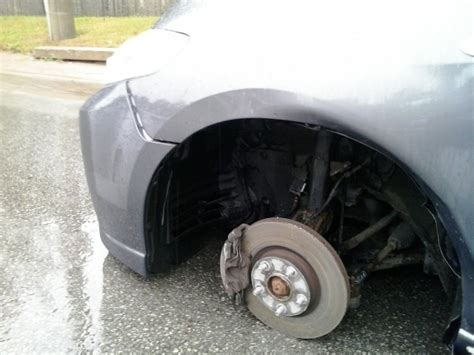 Wheel Fell Off Car After Shop Changed Them, What To Do Now