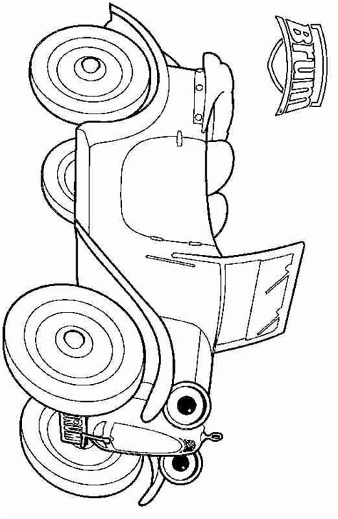 brum coloring pages  kids updated