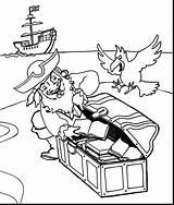 Pirate Coloring Pages Printable Getcolorings Instructive sketch template