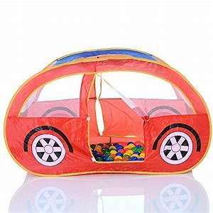 Auto Rutsche Kinder : pop up spielzelt auto spielhaus und b llebad mit 100 bunten b llen spielhaus ~ Frokenaadalensverden.com Haus und Dekorationen