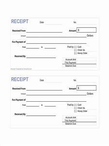 Rent Receipt Format In Pdf Sample Official Cash Receipt