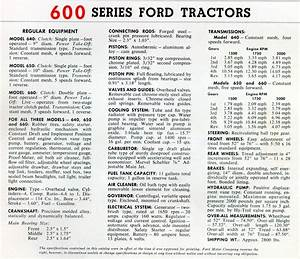 Wiring Diagram 1957 Ford 600 Tractor Ford 800 Tractor