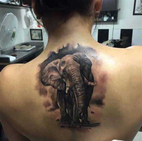 51 Exceptional Elephant Tattoo Designs & Ideas - TattooBlend