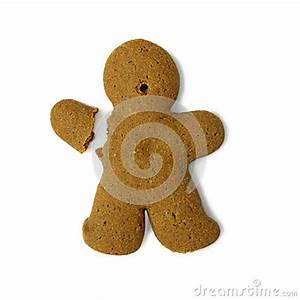 Gingerbread Man With Broken Hand Royalty Free Stock Image ...