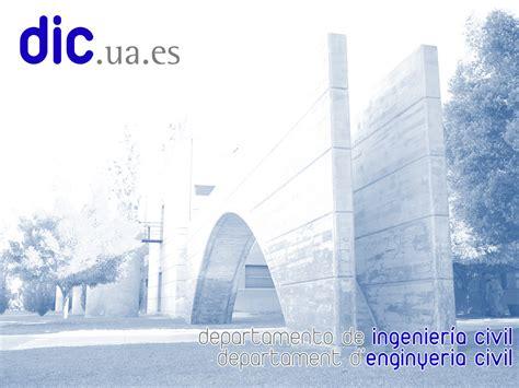 identidad corporativa departamento de ingenieria civil