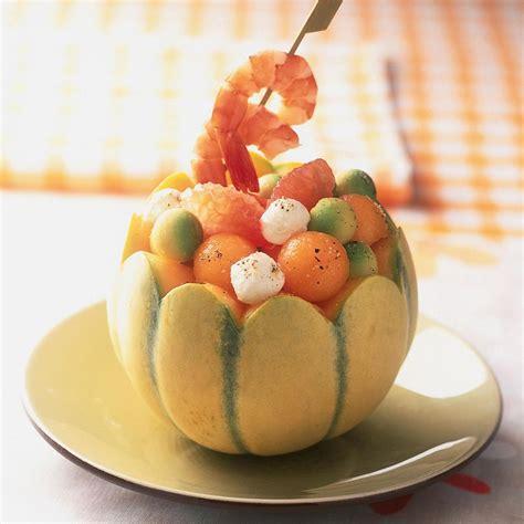 cuisine avocat recette salade de melon et avocat cuisine madame figaro