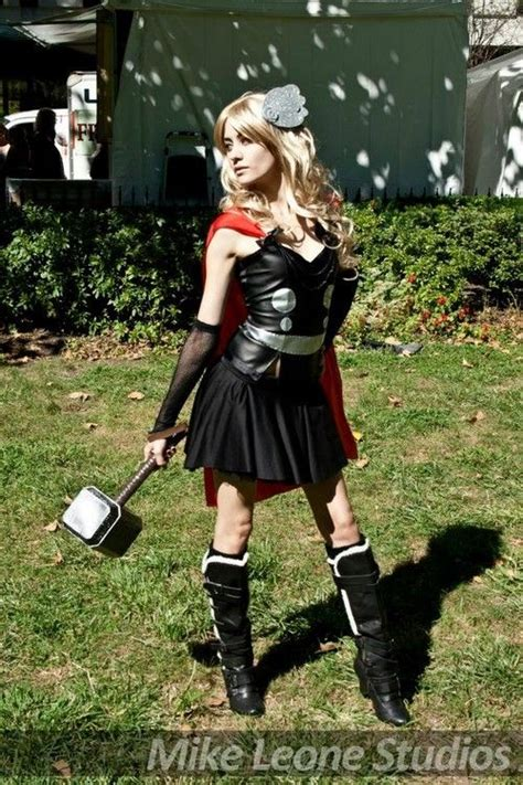 Female Thor Cosplay Costume If The Gown Is Too Much To
