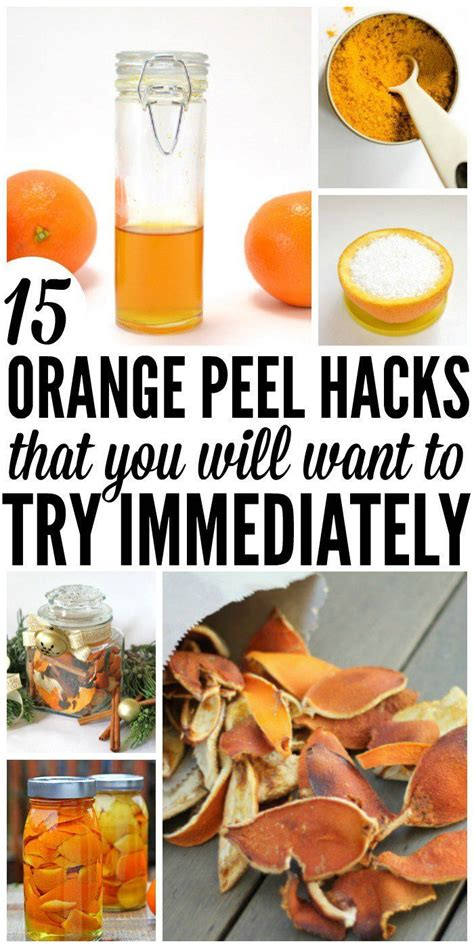 Hacks Orange by 15 Orange Peel Hacks You Ll Want To Try Immediately
