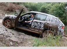 Best shots of BMW X1 as it goes offroad!