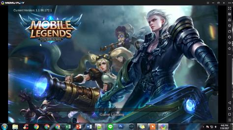 Install Mobile Legends Pc