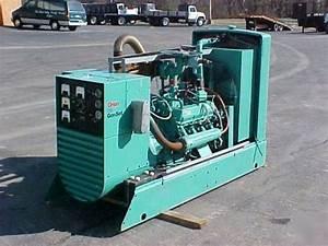 Generators Onan Cummins Diesel Generator For Sale 7500 Quiet