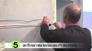 Un Va Et Vient : branchement d un interrupteur va et vient youtube ~ Dailycaller-alerts.com Idées de Décoration