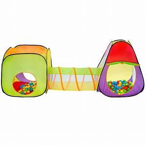 Kinderzelt Mit Bällen : kinderzelt zelt mit tunnel kinderzelt spielzelt b llebad krabbeltunnel tasche ebay ~ Watch28wear.com Haus und Dekorationen