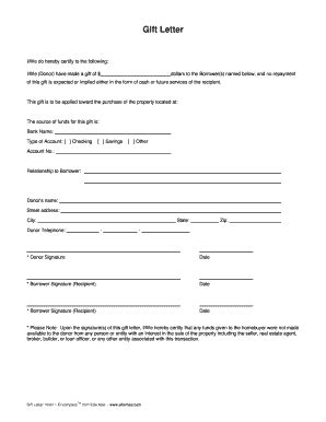 printable mortgage letter templates forms fillable