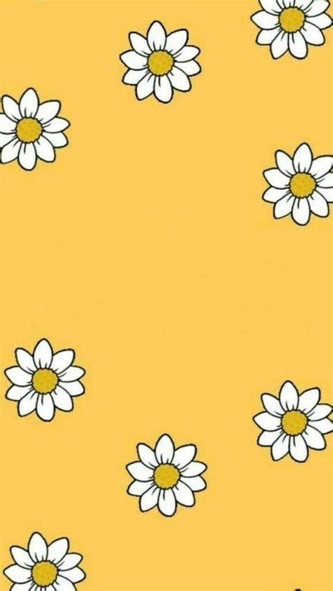 aesthetic yellow girly wallpapers