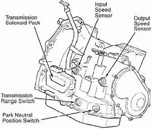2002 Dodge Caravan Transmission Speed Sensor image details