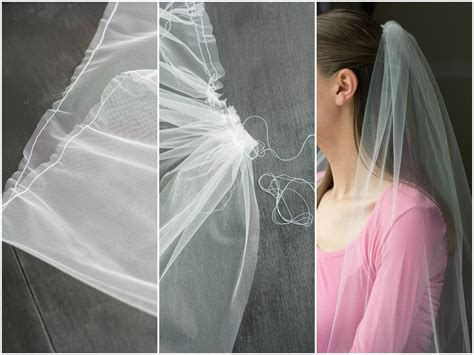 How To Make A Bridal Veil // Simple Diy Bridal Veil