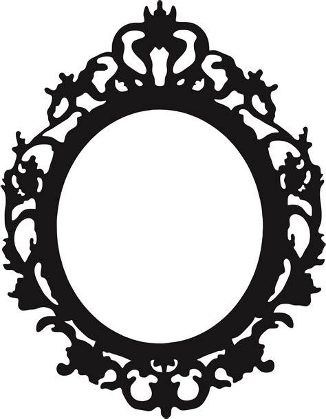oval mirror frames 79 free frame clipart cliparting com