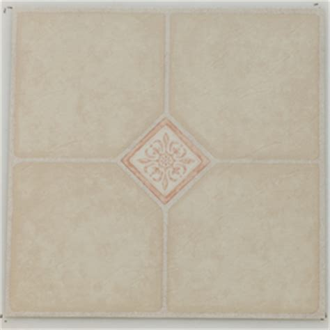 shop novalis home fashion 12 in x 12 in ivory key peel and