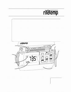Ritetemp 6025 Owner U0026 39 S Manual
