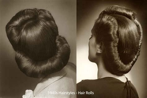 1940s Wartime Hairstyles by History Of Womens Fashion 1940 To 1949 In 2019