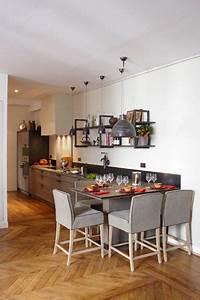 Gain De Place Une Cuisine Xavie39z Dans L39entre