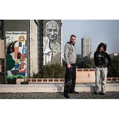 Writing like an Asian: 2014 Street Art Festival in New Delhi