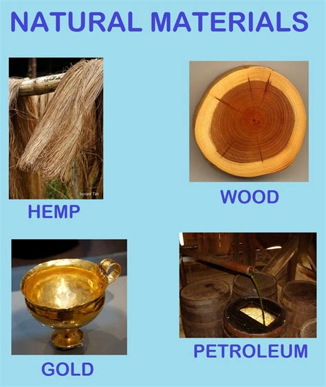 Science Blog Year 4 Natural Materials