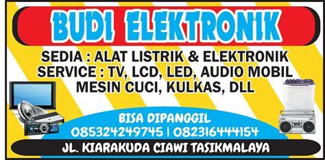 23+ Desain Spanduk Toko Elektronik
