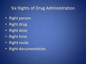 ppt im epinephrine administration by the emt powerpoint With 6 rights of medication