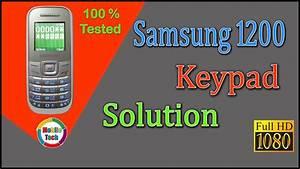 Samsung 1200 Keypad 0 Solution