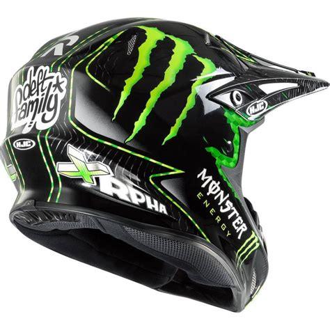 monster motocross helmet hjc r pha x nate adams monster mx helmet motoworld