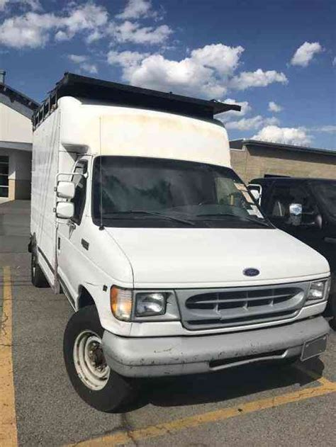 ford commercial truck ford econoline commercial cutaway 1999 van box trucks