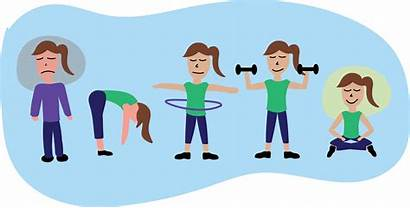 Exercise Physical Transparent Cartoon Clipart Exercising Background