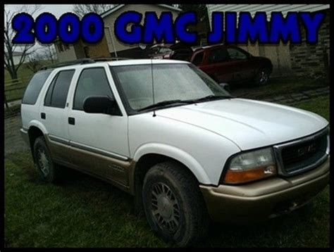 Sell Used Gmc Jimmy Sls Sport Utility Door